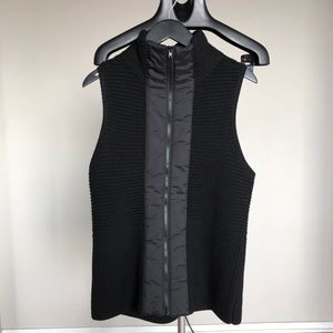 EILEEN FISHER Ribbed Merino Sweater Vest